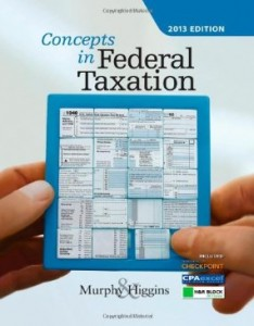 Test bank for Concepts in Federal Taxation 2013 20th Edition by Murphy