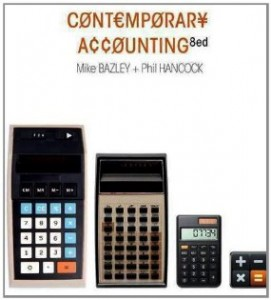 Test bank for Contemporary Accounting 8th Edition by Bazley