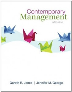 Test bank for Contemporary Management 8th Edition by Jones