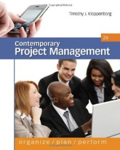 Test bank for Contemporary Project Management 2nd Edition by Kloppenborg