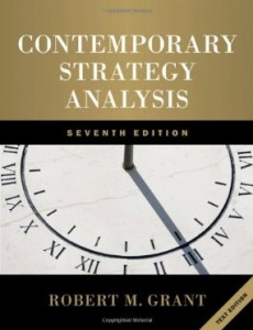 Test bank for Contemporary Strategy Analysis 7th Edition by Grant