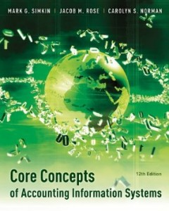 Test bank for Core Concepts of Accounting Information Systems 12th Edition by Simkin