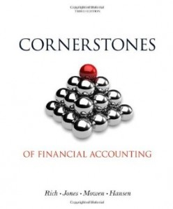 Test bank for Cornerstones of Financial Accounting 3rd Edition by Rich