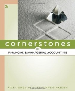 Test bank for Cornerstones of Financial and Managerial Accounting 2nd Edition by Rich
