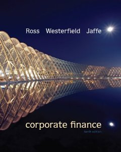 Test bank for Corporate Finance 10th Edition by Ross
