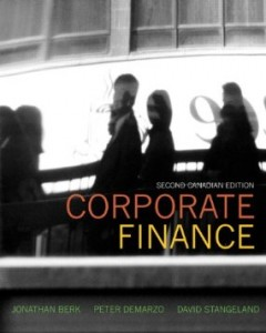 Test bank for Corporate Finance 2nd Canadian Edition by Berk