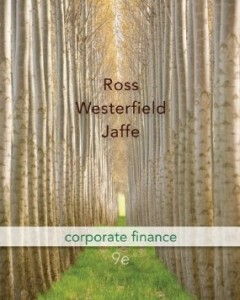 Test bank for Corporate Finance 9th Edition by Ross