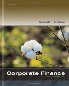 Test bank for Corporate Finance A Focused Approach 5th Edition by Ehrhardt