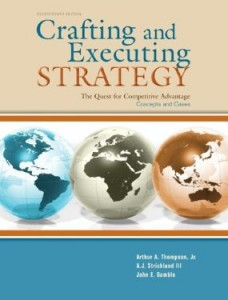 Test bank for Crafting and Executing Strategy The Quest for Competitive Advantage Concepts and Cases 17th Edition by Thompson