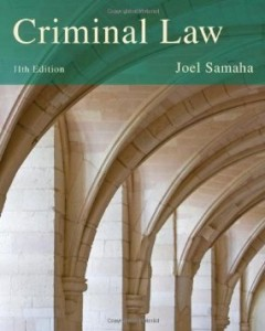 Test bank for Criminal Law 11th Edition by Samaha