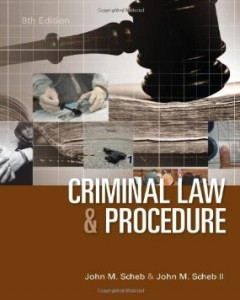 Test bank for Criminal Law and Procedure 8th Edition by Scheb