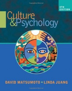 Test bank for Culture and Psychology 4th Edition by Matsumoto