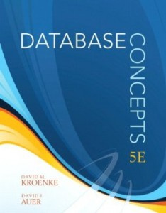 Test bank for Database Concepts 5th Edition by Kroenke