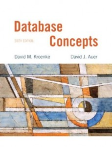 Test bank for Database Concepts 6th Edition by Kroenke