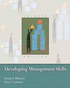 Test bank for Developing Management Skills 7th Edition by Whetten
