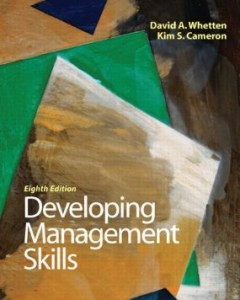 Test bank for Developing Management Skills 8th Edition by Whetten