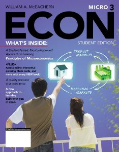 Test bank for ECON Micro3 3rd Edition by McEachern
