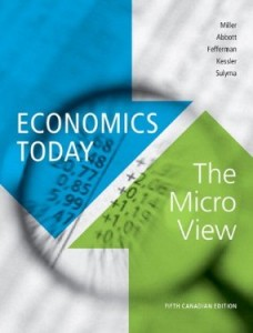 Test bank for Economics Today The Micro View 5th Canadian Edition by Miller