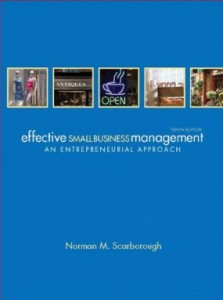 Test bank for Effective Small Business Management 10th Edition by Scarborough