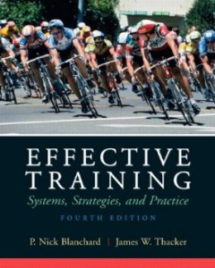 Test bank for Effective Training 4th Edition by Blanchard