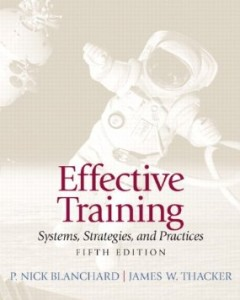 Test bank for Effective Training 5th Edition by Blanchard