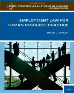 Test bank for Employment Law for Human Resource Practice 3rd Edition by Walsh