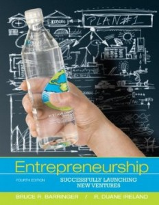 Test bank for Entrepreneurship Successfully Launching New Ventures 4th Edition by Barringer