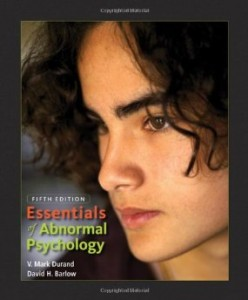 Test bank for Essentials of Abnormal Psychology 5th Edition by Durand