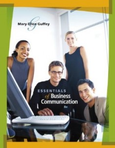 Test bank for Essentials of Business Communication 8th Edition by Guffey