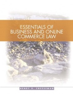Test bank for Essentials of Business Law 1st Edition by Cheeseman