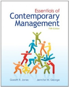 Test bank for Essentials of Contemporary Management 5th Edition by Jones