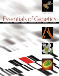 Test bank for Essentials of Genetics 7th Edition by Klug