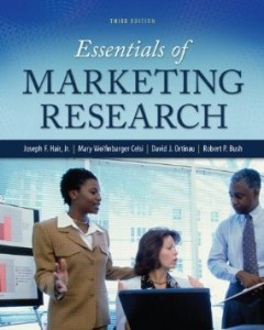 Test bank for Essentials of Marketing Research 3rd Edition by Hair