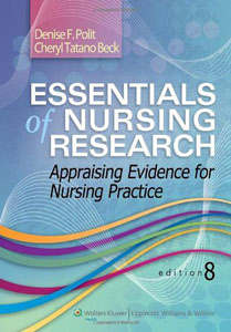 Test bank for Essentials of Nursing Research Appraising Evidence for Nursing Practice 8th Edition by Polit