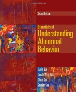Test bank for Essentials of Understanding Abnormal Behavior 2nd Edition by Sue