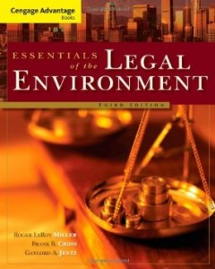 Test bank for Essentials of the Legal Environment 3rd Edition by Miller