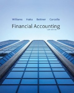 Test bank for Financial Accounting 15th Edition by Williams
