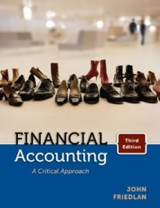 Test bank for Financial Accounting A Critical Approach 3rd Canadian Edition by Friedlan