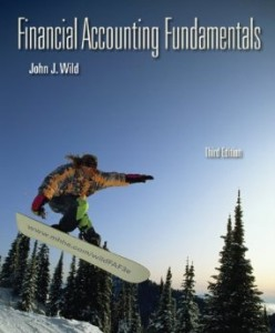 Test bank for Financial Accounting Fundamentals 3rd Edition by Wild