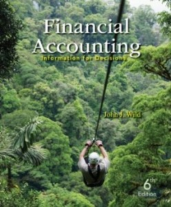 Test bank for Financial Accounting Information for Decisions 6th Edition by Wild