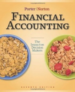 Test bank for Financial Accounting The Impact on Decision Makers 7th Edition by Porter