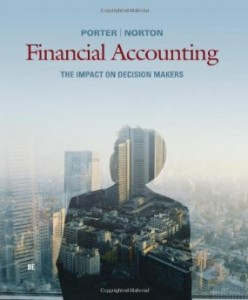 Test bank for Financial Accounting The Impact on Decision Makers 8th Edition by Porter