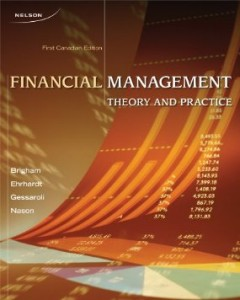 Test bank for Financial Management 1st Canadian Edition by Brigham
