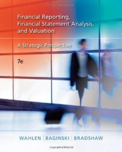 Test bank for Financial Reporting Financial Statement Analysis and Valuation A Strategic Perspective 7th Edition by Wahlen