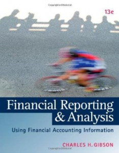 Test bank for Financial Reporting and Analysis 13th Edition by Gibson
