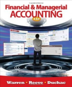 Test bank for Financial and Managerial Accounting 11th Edition by Warren