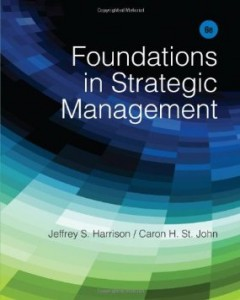 Test bank for Foundations in Strategic Management 6th Edition by Harrison