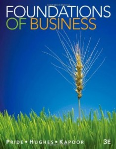 Test bank for Foundations of Business 3rd Edition by Pride