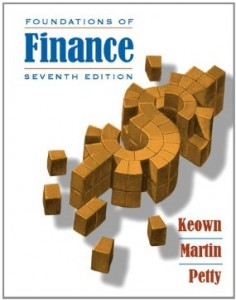 Test bank for Foundations of Finance 7th Edition by Keown