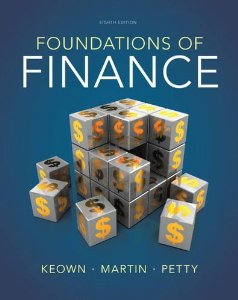 Test bank for Foundations of Finance 8th Edition by Keown